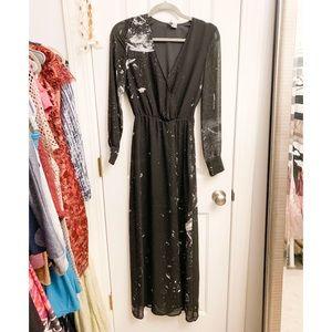 H&M Interstellar Galaxy Maxi Dress